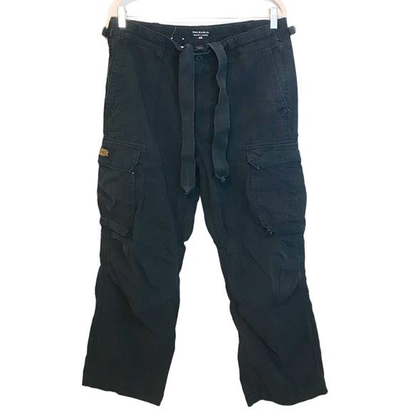Men's Polo Ralph Lauren Military Black Cargo Pants